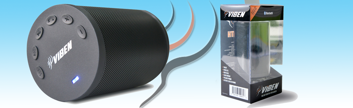 Viben Speaker and Packaging